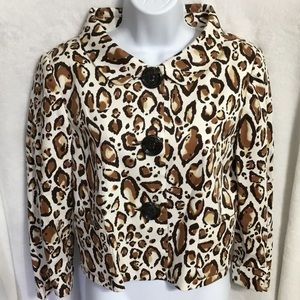 Andre Oliver Animal Print Jacket